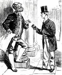 Punch Cartoon Of 1862